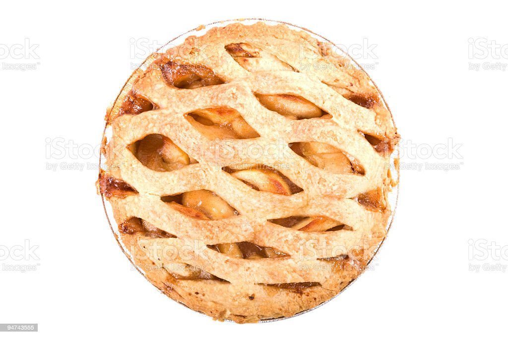 Apple Pie Whole royalty-free stock photo