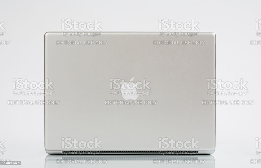 Apple Power Book G4 royalty-free stock photo