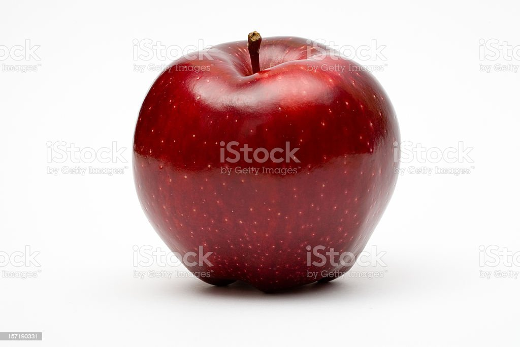 apple red isolated royalty-free stock photo
