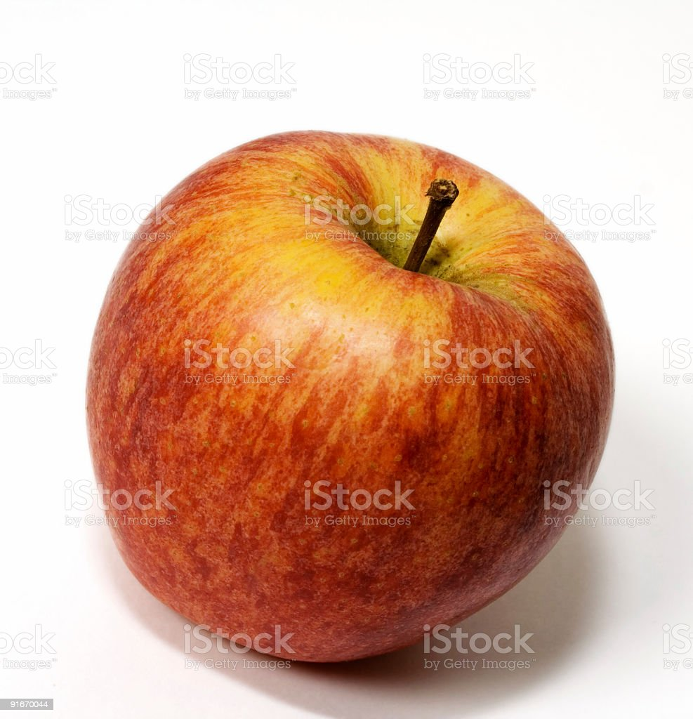 Apple: Royal Gala stock photo