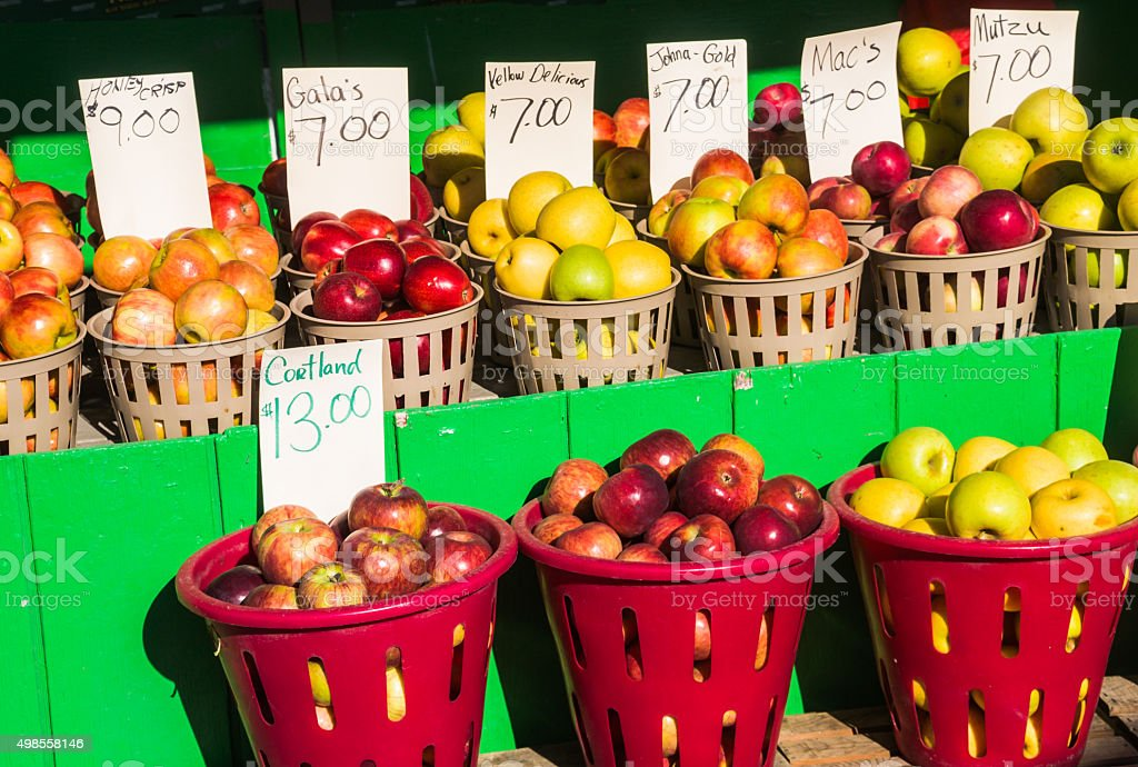 Apple Selections stock photo