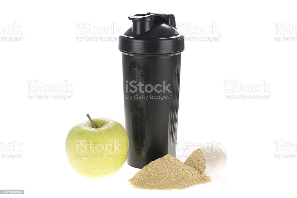 Apple shake drink stock photo