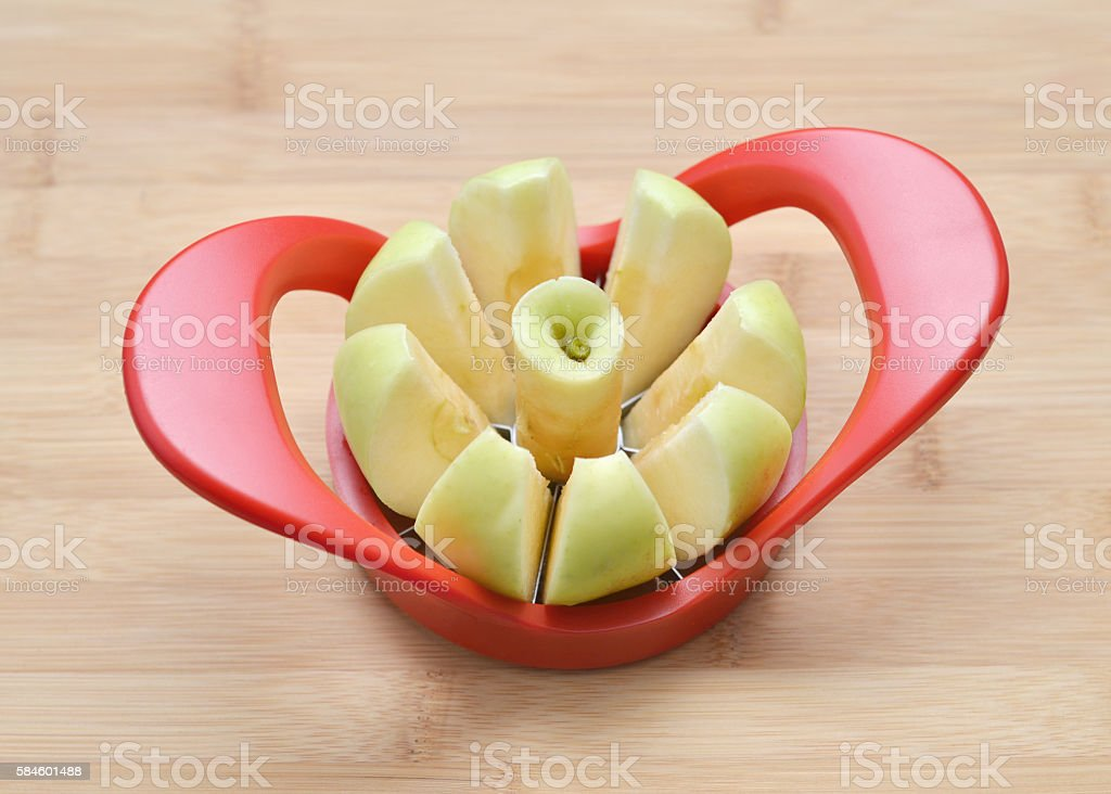 Apple Slicer stock photo