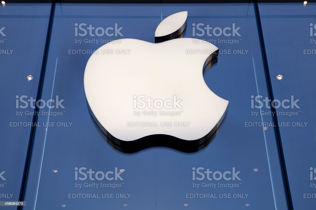 Apple Store in beijing royalty-free stock photo