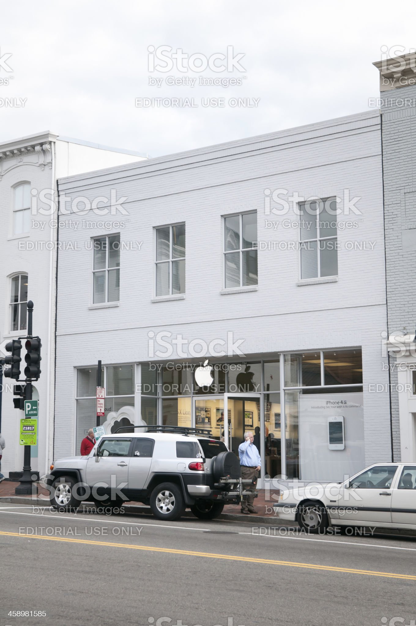 Apple Store in Georgetwon, USA royalty-free stock photo