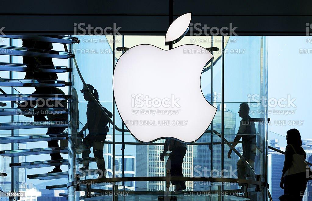 Apple Store royalty-free stock photo