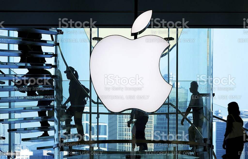 Apple Store stock photo