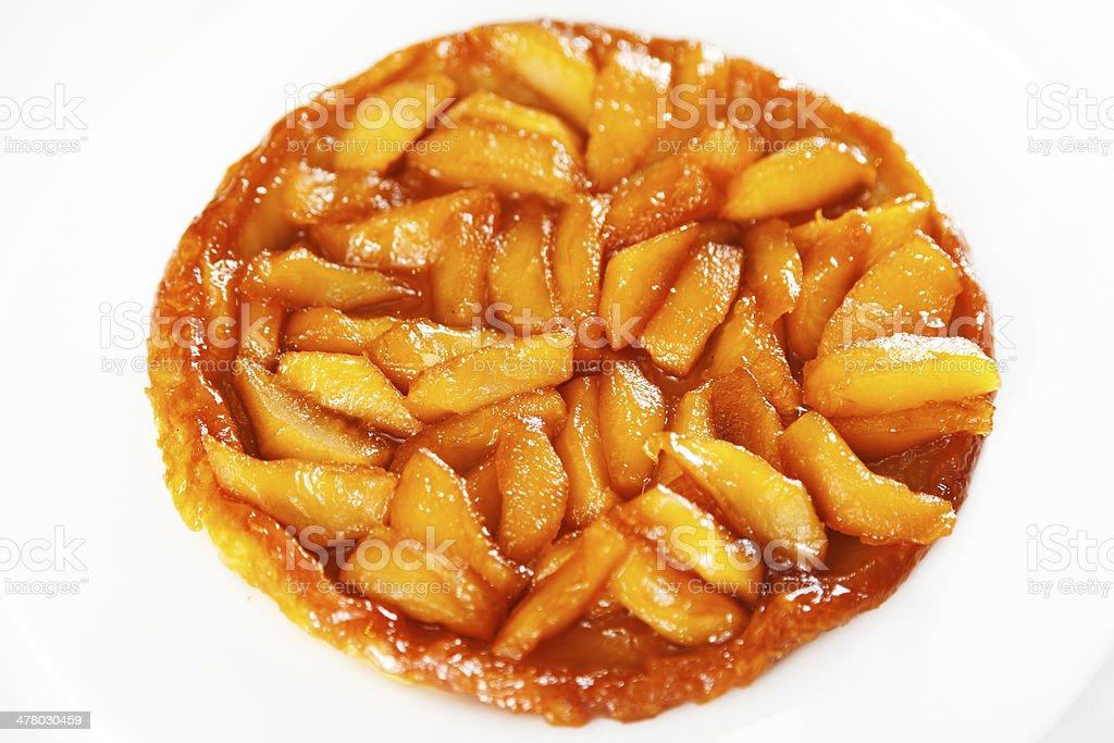 Apple Tarte Tatin stock photo