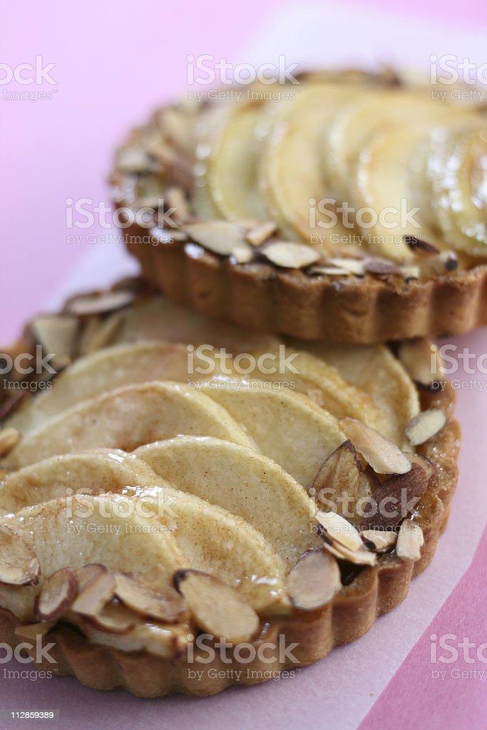 apple tarts royalty-free stock photo