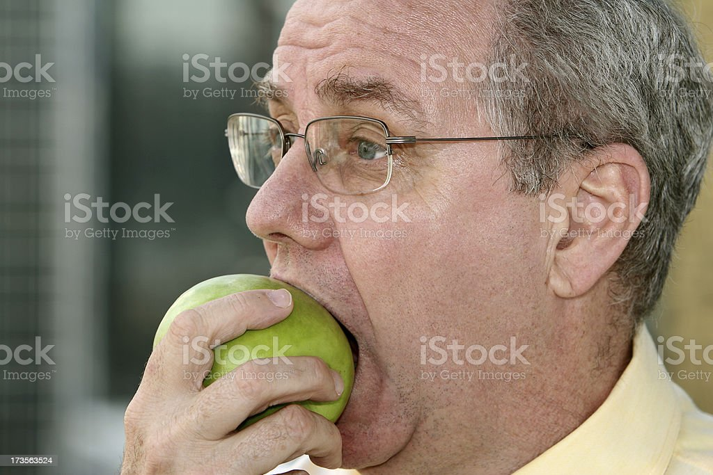 Apple Time. royalty-free stock photo