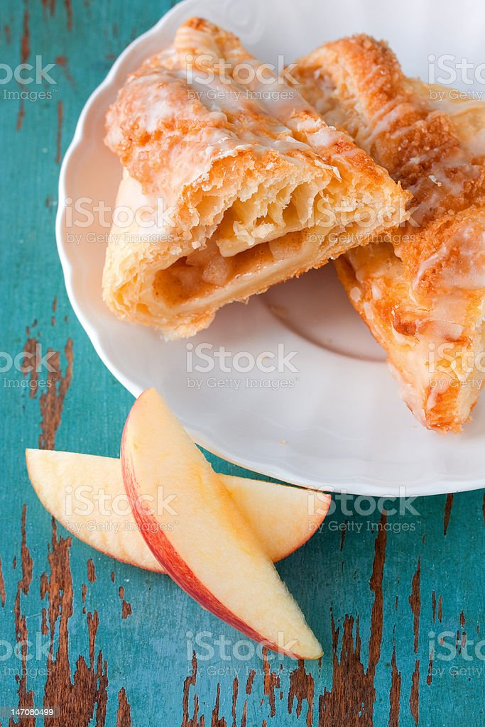 Apple turnover royalty-free stock photo
