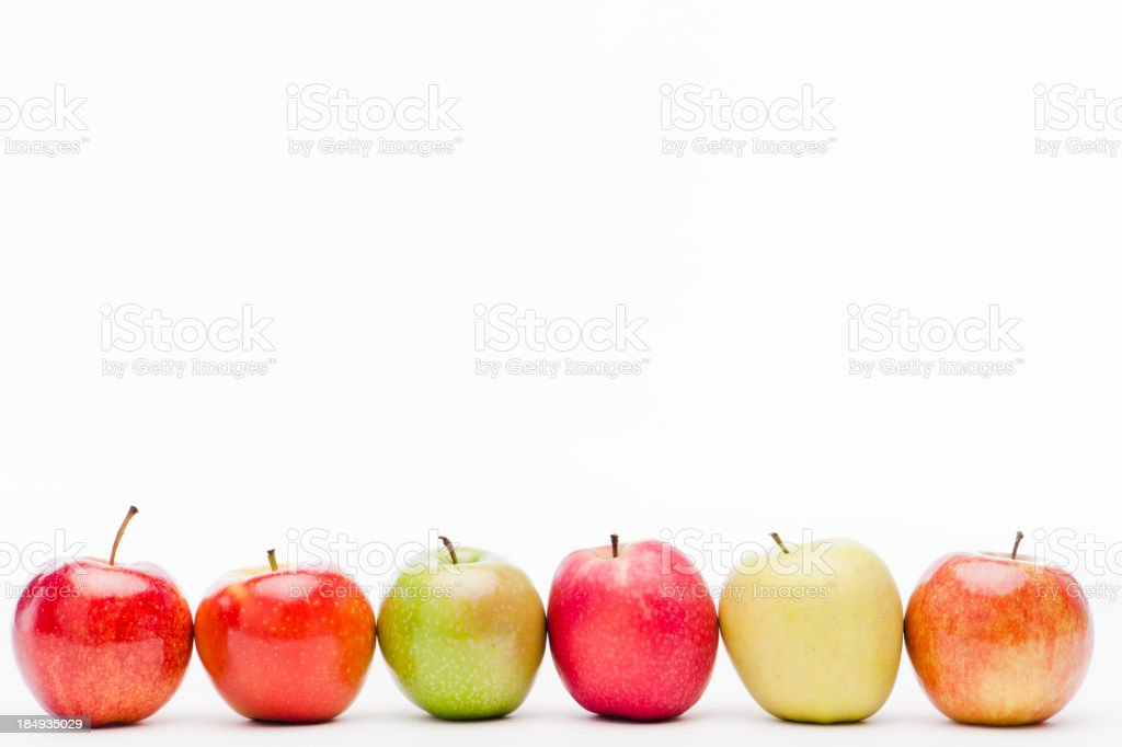 Apple variation royalty-free stock photo