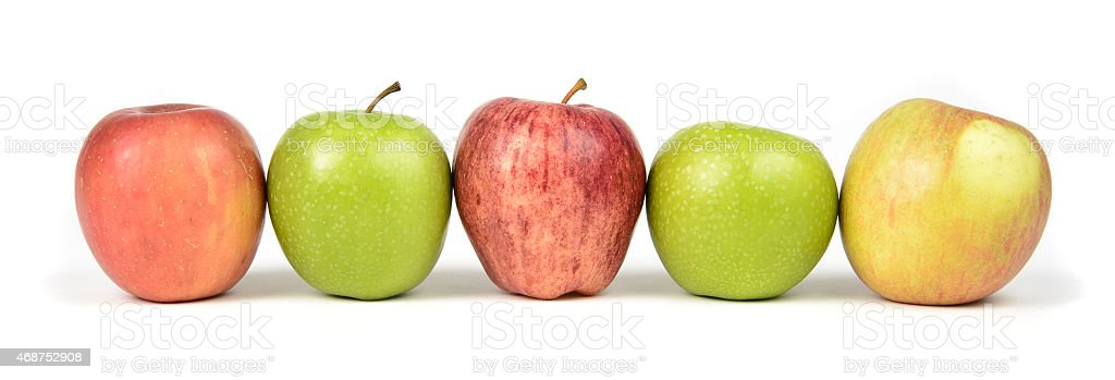 Apple Varieties stock photo