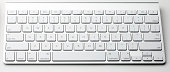 Apple Wireless Keyboard with clipping path