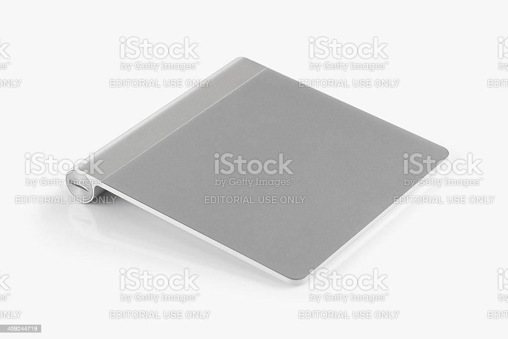 Apple Wireless Magic Trackpad stock photo