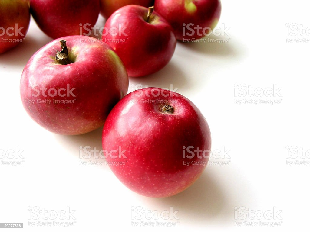 Apples 4 stock photo