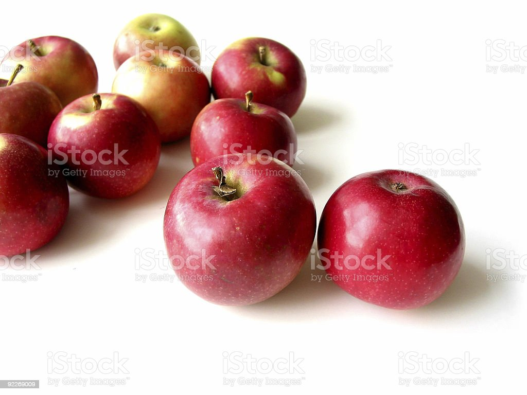 Apples 5 stock photo