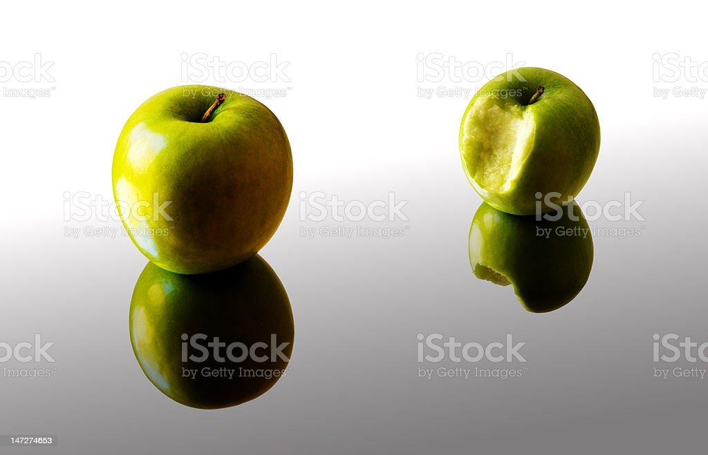 Apples and Mirrors royalty-free stock photo