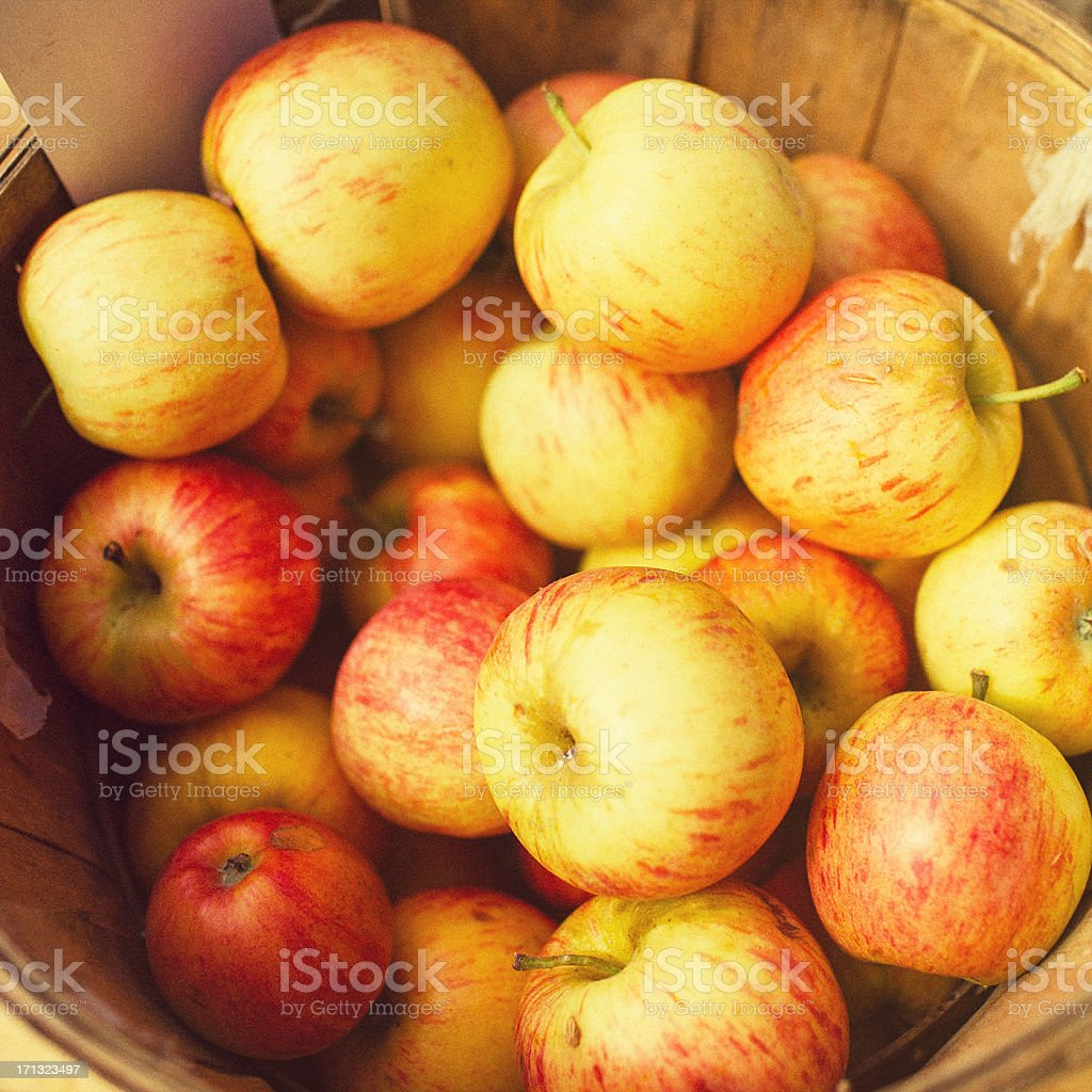 apples for sale stock photo
