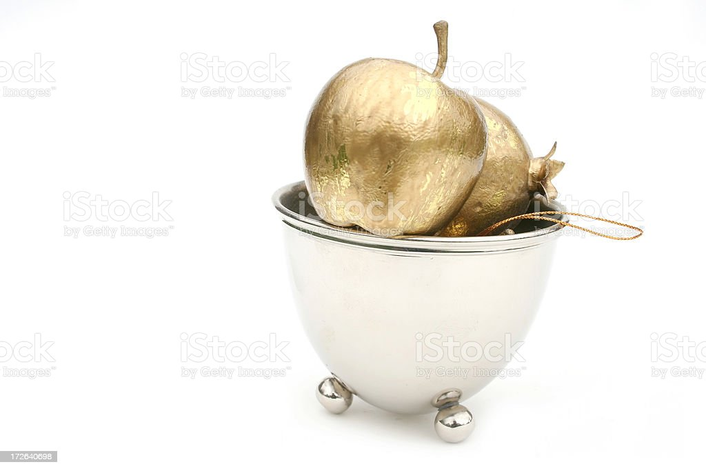 Apples of Gold stock photo