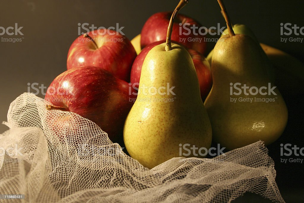 apples & pears royalty-free stock photo