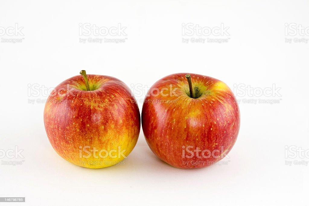 Äpfel Lizenzfreies stock-foto