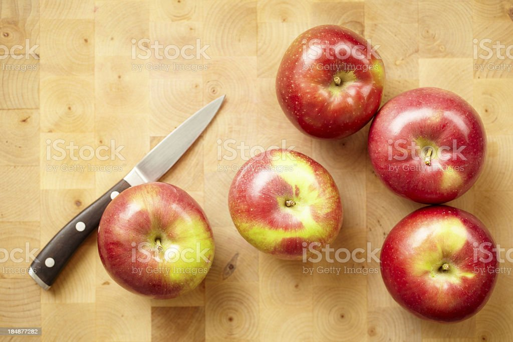 Apples stock photo