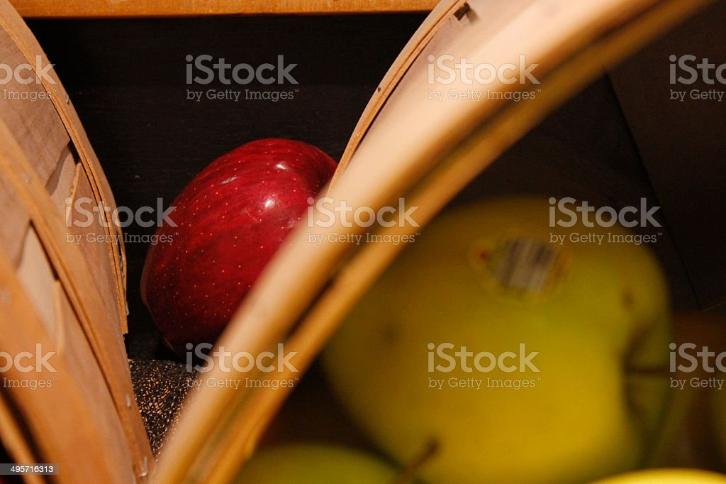 2 apples stock photo