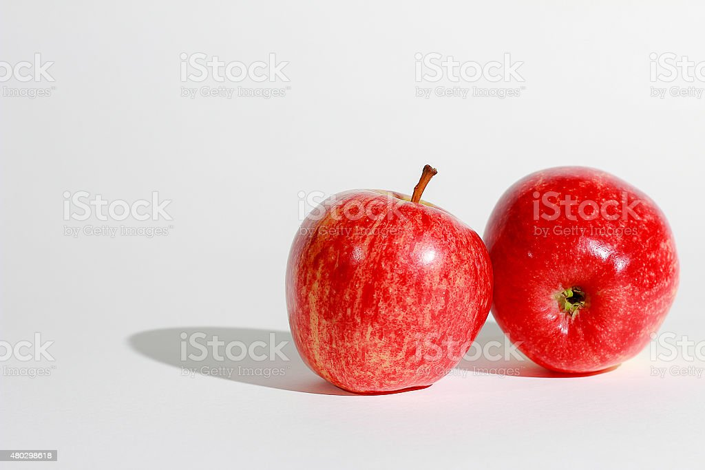 Apples Red stock photo