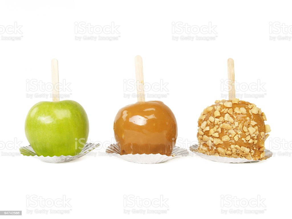 Apples Three royalty-free stock photo
