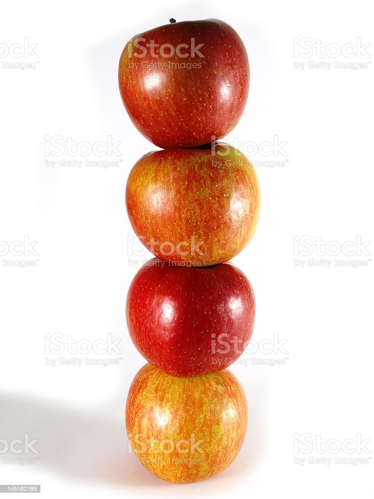 Apples vertical royalty-free stock photo