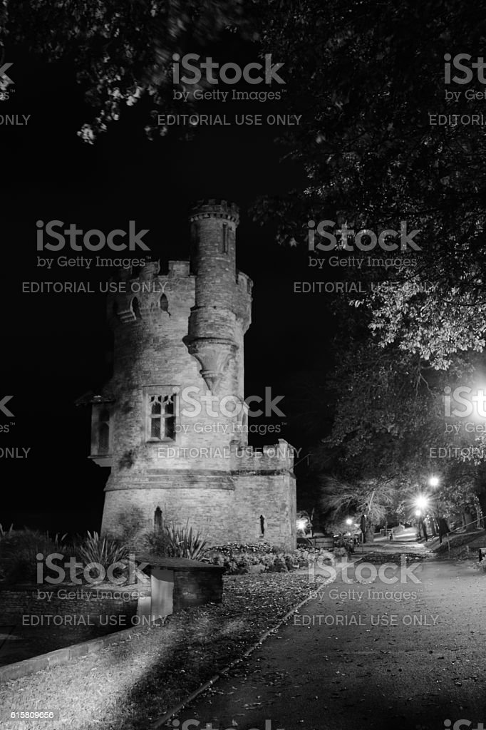 Appley Tower - Black and White stock photo