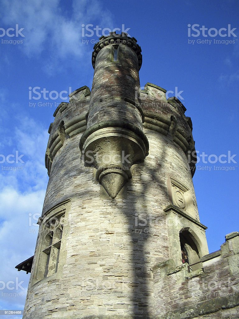 Appley Tower - Ryde, Isle of Wight stock photo