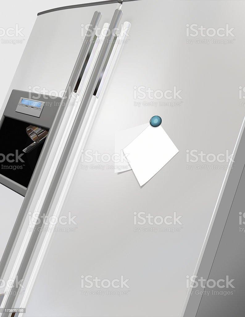 Appliance refrigerator stock photo