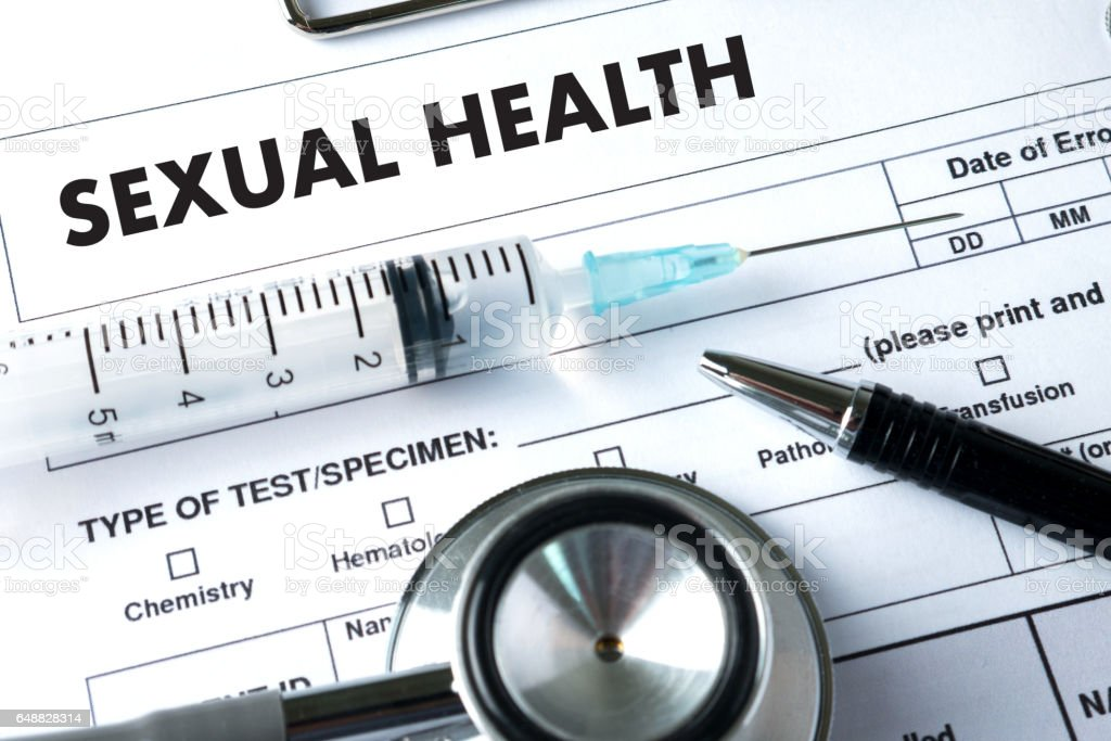 SEXUAL HEALTH    , Application Concept  health care stock photo