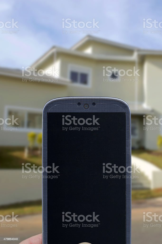 Application for home stock photo