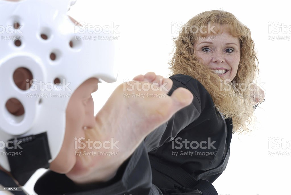 Applied technique royalty-free stock photo