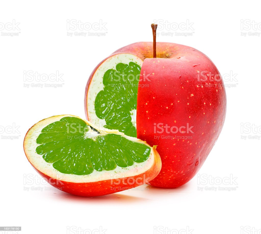 GMO Applime stock photo