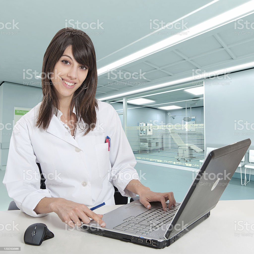 Appointment with the doctor stock photo