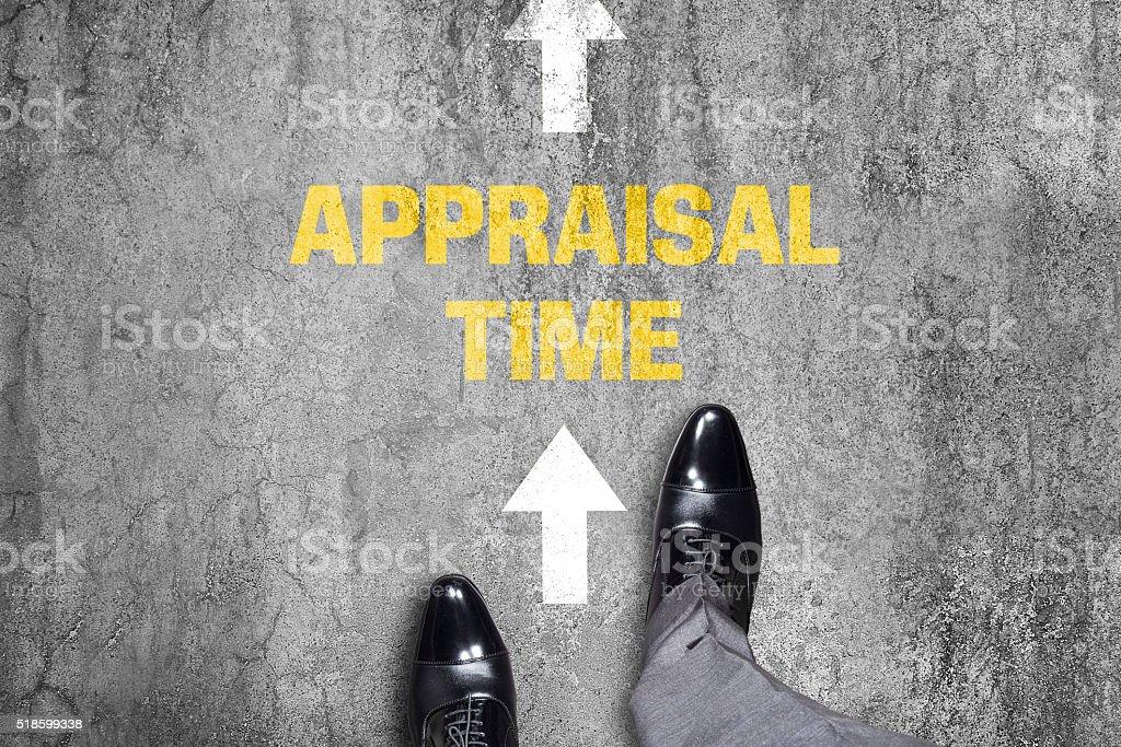 Appraisal Time stock photo