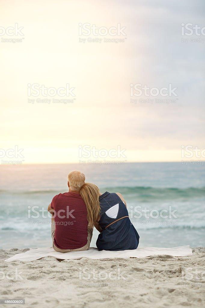 Appreciate each other, appreciate life stock photo