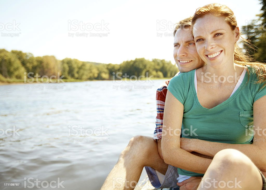 Appreciating our surroundings royalty-free stock photo