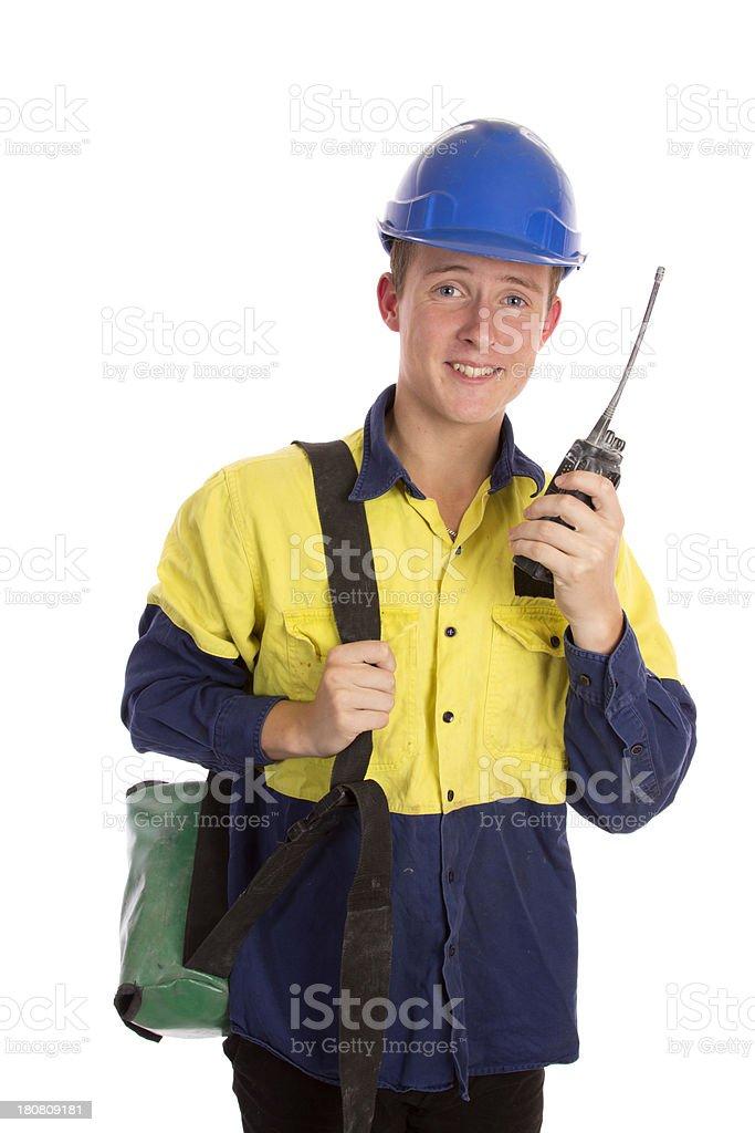 Apprentice royalty-free stock photo