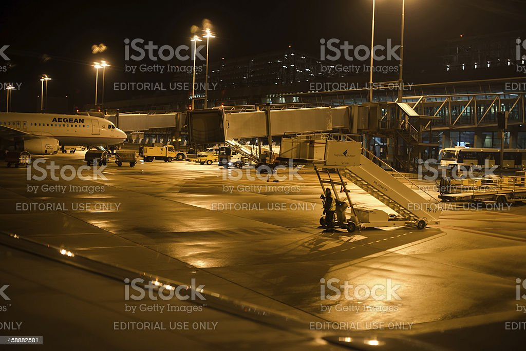 Approaching The Airport royalty-free stock photo