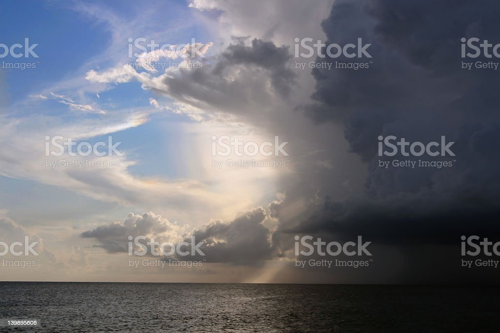 approching storm royalty-free stock photo