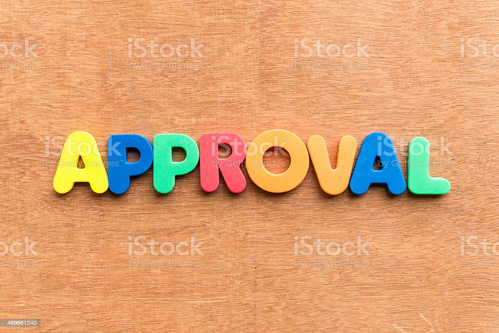 approval stock photo
