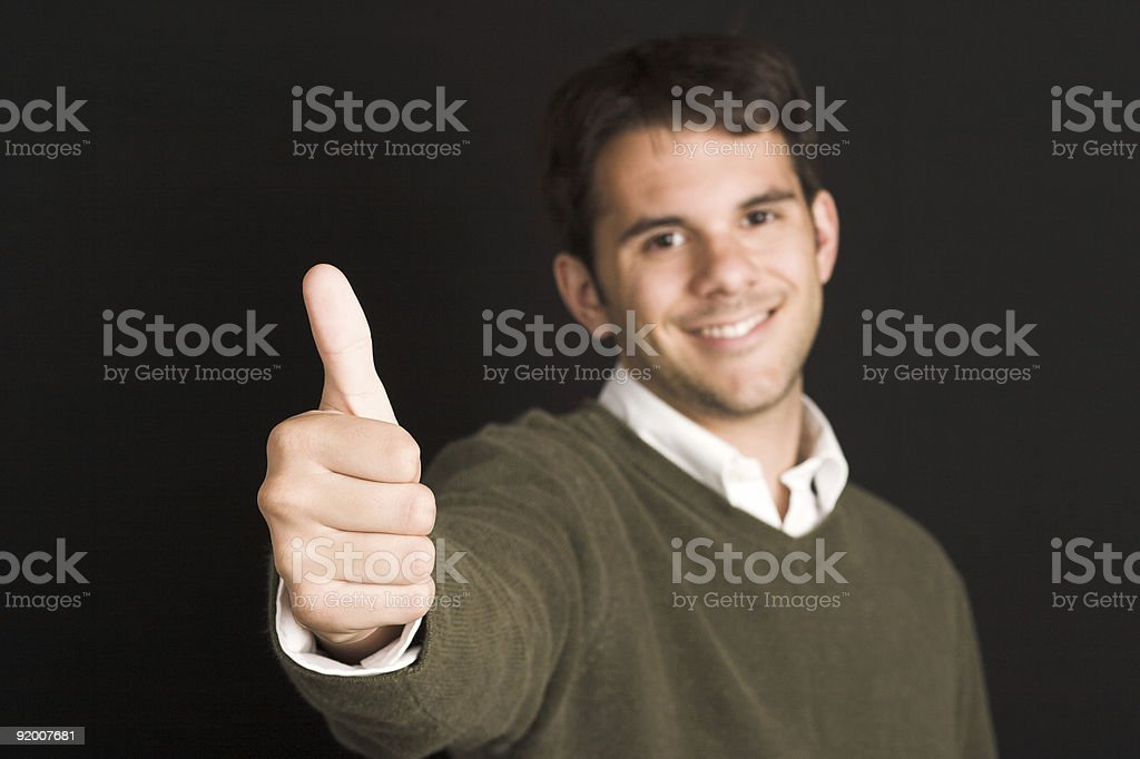 Approval royalty-free stock photo