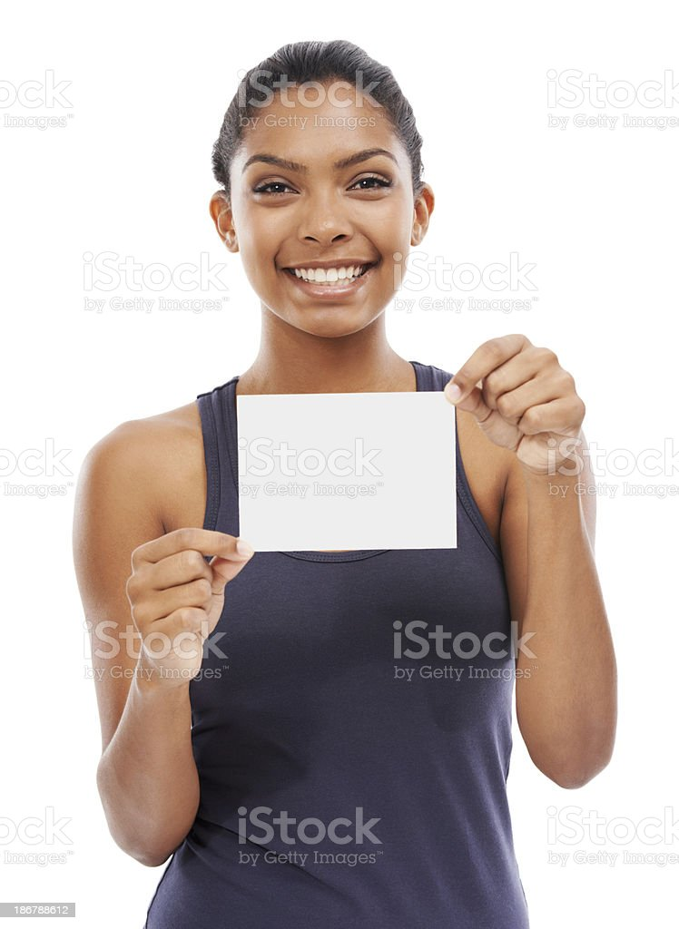 I approve! - Copyspace royalty-free stock photo