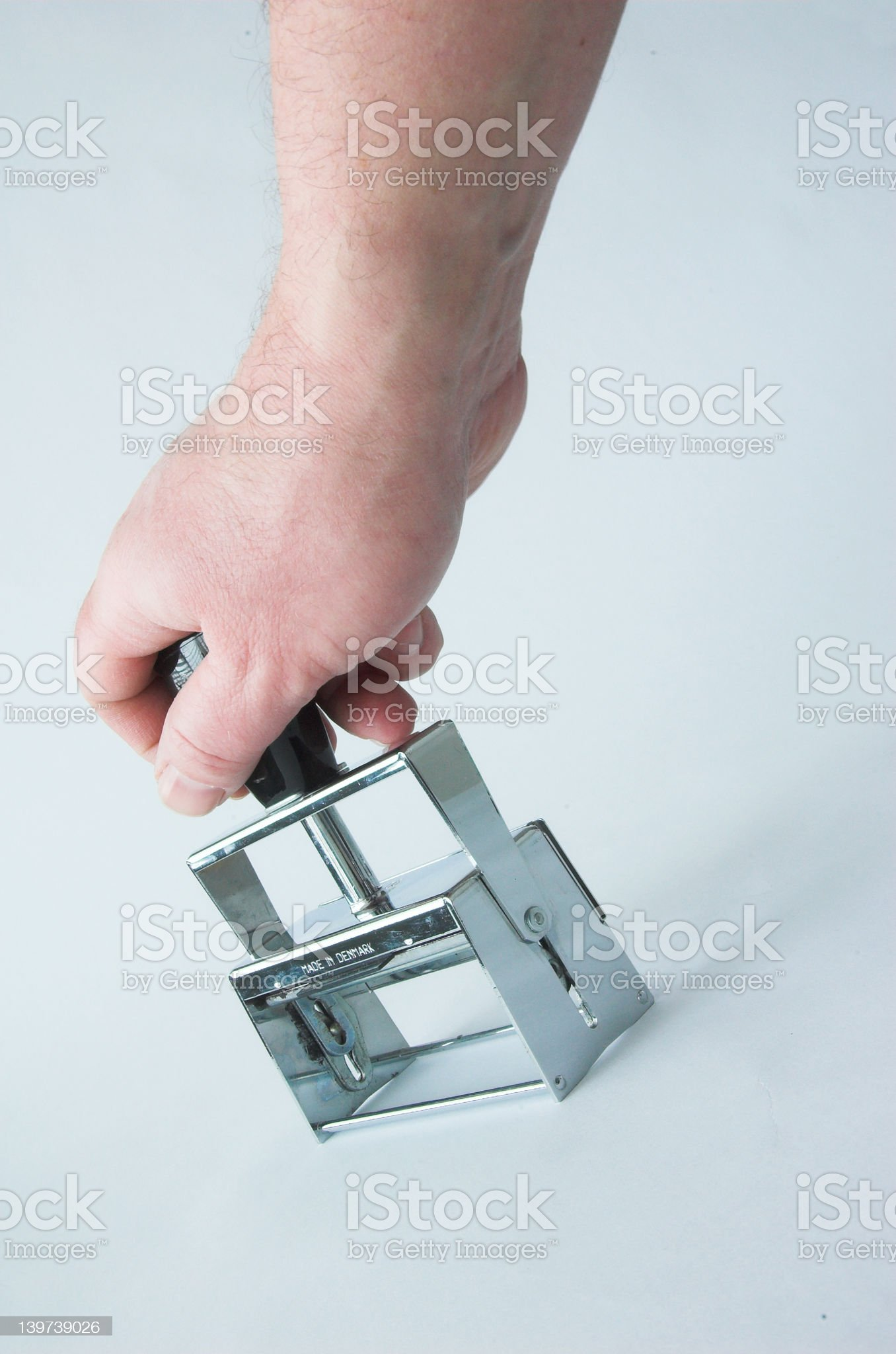Approved by.... royalty-free stock photo