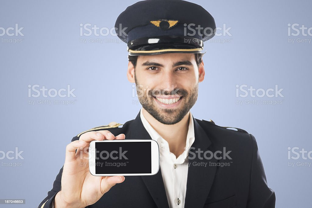 Approved by pilots royalty-free stock photo